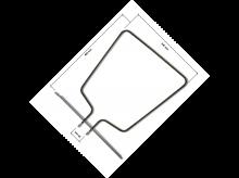 Oven Heating Element Whirlpool Bauknecht - 481925928791