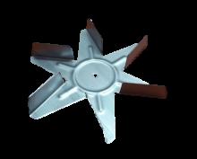 Oven Fan Ventilator Blade Gorenje Mora - 617771