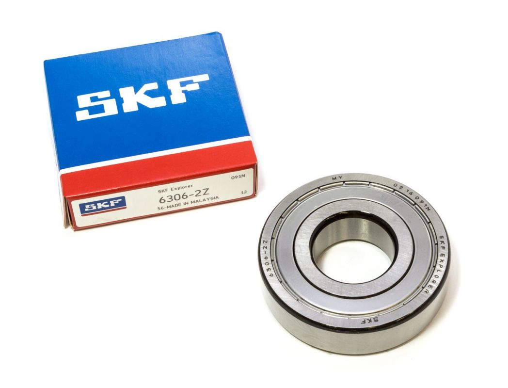 Bearing to washing machines SKF 6306 ZZ, 30 x 72 x 19 mm Others