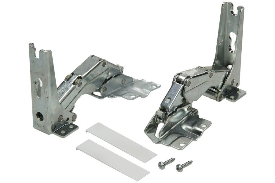 Door Hinges for Bosch, Siemens, Neff Fridge - kit 2 pcs for 1 door
