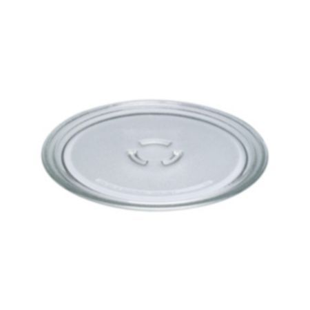 Glass Turntable Tray 281 mm for Whirlpool Microwaves