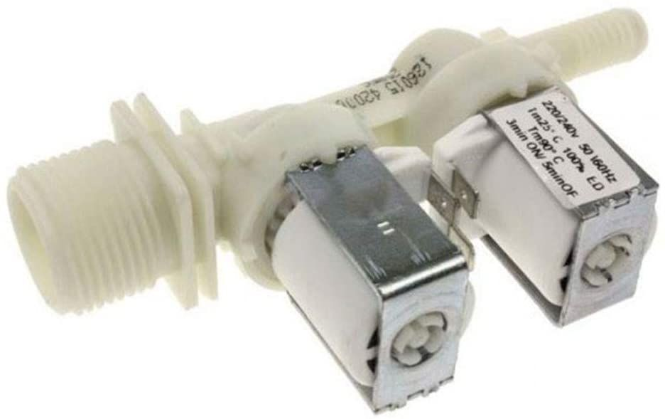 Electric Valve for Whirlpool Indesit Washing Machines - C00143737 Whirlpool / Indesit