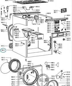 Washing Machine Frame Whirlpool / Indesit
