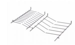 Folding Thornes for Bosch Siemens Dishwashers - 00489467