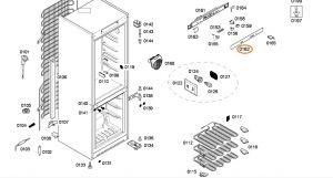 Refrigerator Panel BSH