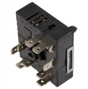 Hot Plate Energy Regulator, Hot Plate Switch (for 2 Circuits) for Universal Ceramic Hobs - 5085021000