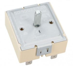 Hot Plate Energy Regulator, Hot Plate Switch (for 1 Circuit) for Universal Ceramic Hobs - 50.57021.010