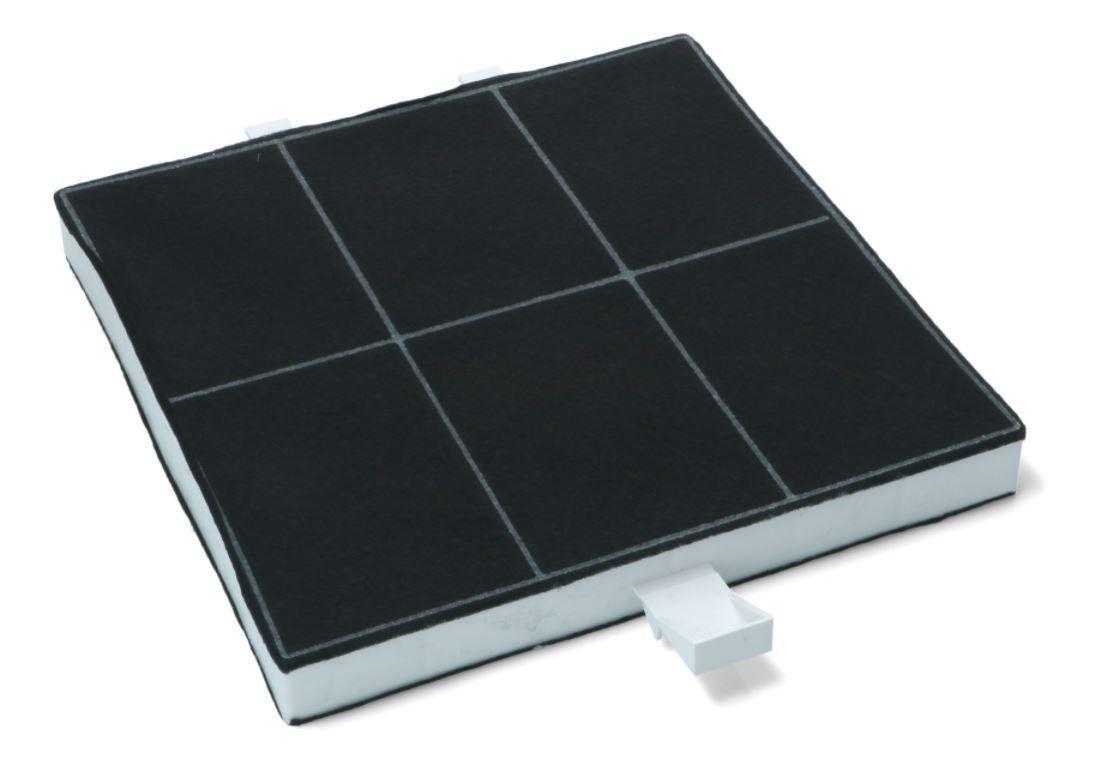 Carbon Filter, 220x220x25MM, for Bosch Siemens Cooker Hoods - 00357585 Bosch / Siemens