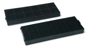Carbon Filters, 2 pcs, 250x90MM, h 23MM, for Gorenje Mora Cooker Hoods - 275204