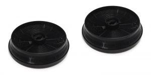 Carbon Filters, 2 pcs, diameter 148MM, h 37MM, for Beko Blomberg Cooker Hoods - 9179183012