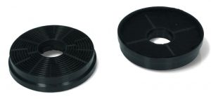 Carbon Filters, Set of 2 pcs, diameter 104MM, for Candy Hoover Cooker Hoods - 49040117