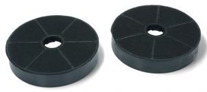 Carbon Filters, Set of 2 pcs, diameter 170MM, h 30MM, for Whirlpool Indesit Cooker Hoods - 49002519