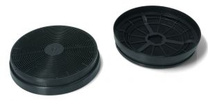 Carbon Filters, Set of 2 pcs, diameter 175MM, for Candy Hoover Cooker Hoods - 49037930
