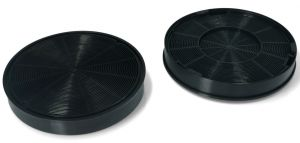 Carbon Filters, Set of 2 pcs, diameter 196MM, h 30MM, for Whirlpool Indesit Cooker Hoods - 481281718522