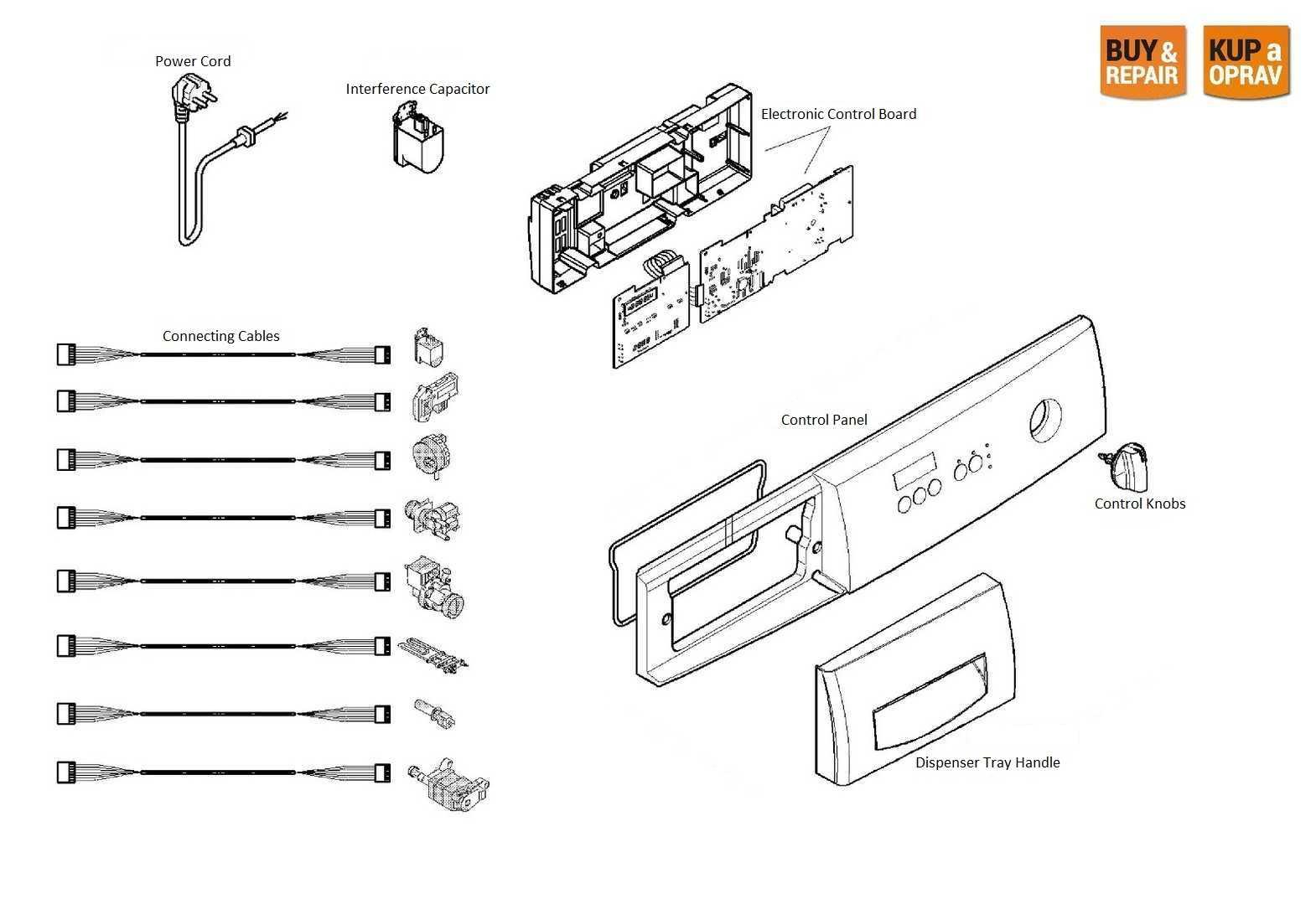 Washing Machine Spare Parts & Accessories